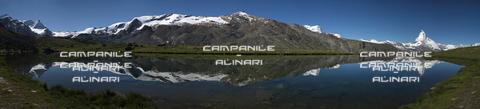 AAC-F-008875-0000 - Stellisee, Matterhorn, Cervino, Zermatt, Vallese; Switzerland; Europa