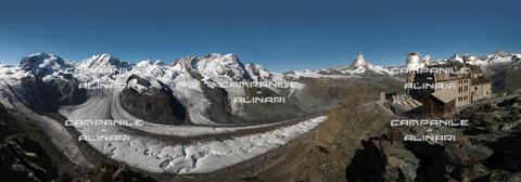 AAC-F-008876-0000 - Matterhorn (Cervino) from Gronergrat, Zermatt, Vallese; Switzerland; Europa