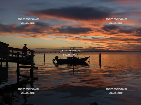 AAC-F-009396-0000 - Fishermen house, Scardovari, Porto tolle, Polesine, Veneto, Italy, Europe