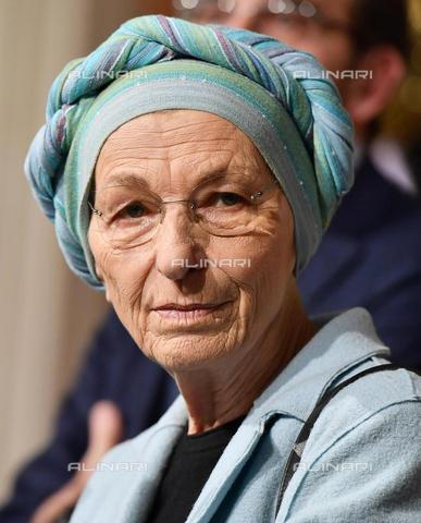 AAE-S-112175-0652 - Emma Bonino portrayed at the end of the meeting with the President of the Republic Sergio Mattarella at the Quirinale for the first round of consultations after the elections - Data dello scatto: 04/04/2018 - ETTORE FERRARI / © ANSA under licence Archivi Fratelli ALINARI