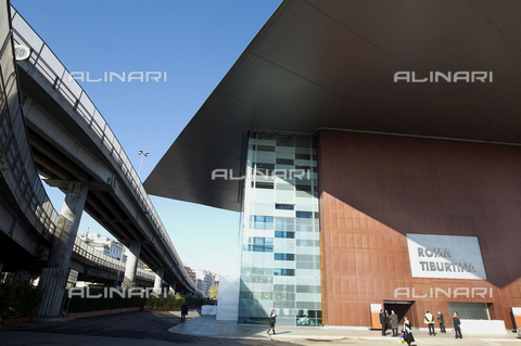 AAE-S-411495-8776 - South entrance of the new station of the High Speed of Rome Tiburtina - Data dello scatto: 28/11/2011 - Photo of Claudio Peri, 2011 / © ANSA under licence Archivi Fratelli ALINARI