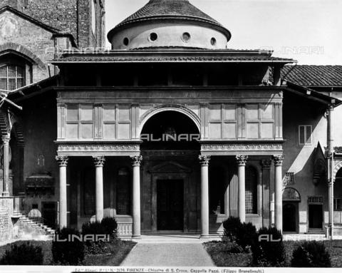 ACA-F-002176-0000 - Pazzi Chapel, faà§ade, Santa Croce, Florence