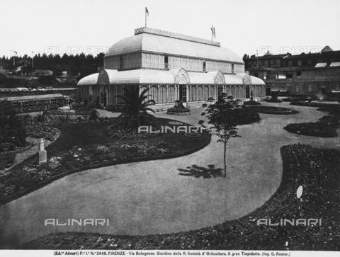 ACA-F-002448-0000 - Pavilion or greenhouse, Giardino dell'Orticoltura, Florence