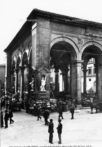 ACA-F-002459-0000 - Loggia del Mercato Nuovo, Piazza del Mercato Nuovo, Florence