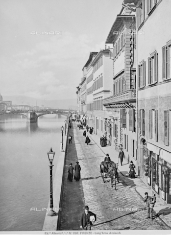 ACA-F-002517-0000 - The Lungarno Acciaiuoli in Florence
