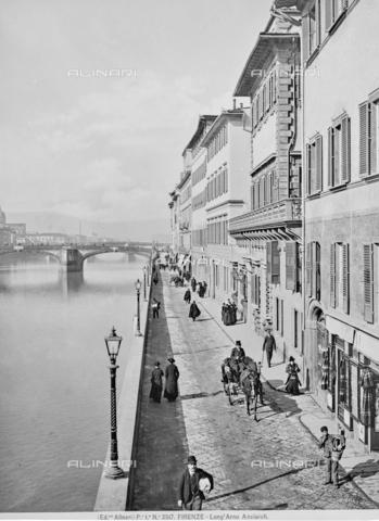 ACA-F-002517-0000 - The Lungarno Acciaiuoli in Florence