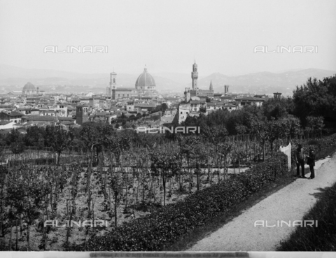 ACA-F-003072-0000 - Panorama of Florence from the south hills of the city
