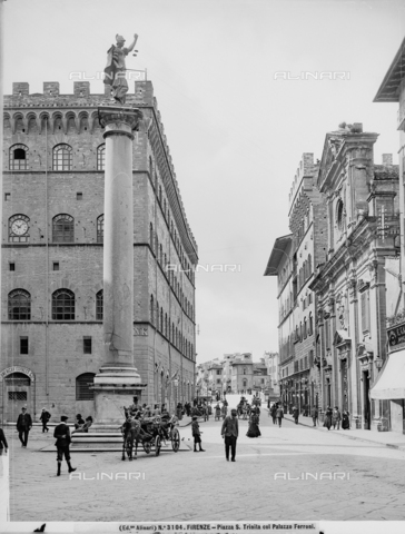 ACA-F-003104-0000 - Column of Justice, Piazza Santa Trinita, Florence
