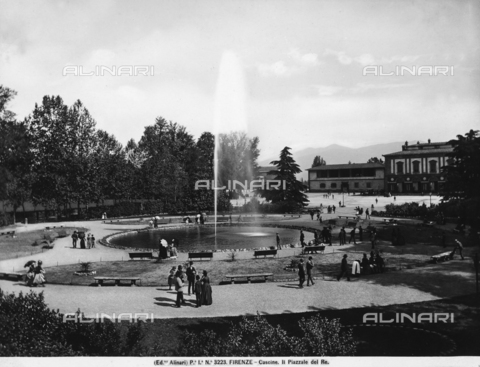 ACA-F-003223-0000 - The Piazzale delle Cascine in Florence