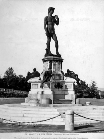 ACA-F-003358-0000 - Monument to Michelangelo, Piazzale Michelangelo, Florence