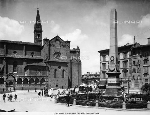 ACA-F-003652-0000 - Obelisk, Piazza dell'Unità Italiana, Florence