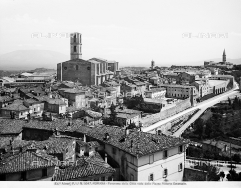ACA-F-005047-0000 - View of the city of Perugia