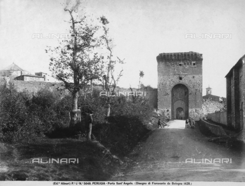 ACA-F-005049-0000 - Porta Sant'Angelo, Perugia, Umbria