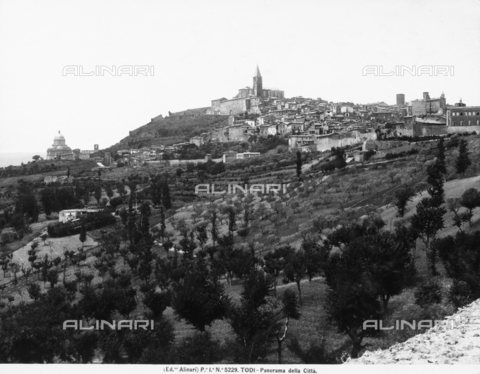 ACA-F-005229-0000 - Panoramic view of the city of Todi