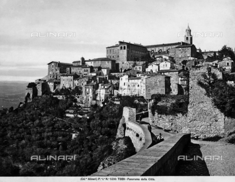 ACA-F-005230-0000 - Panoramic view of the city of Todi
