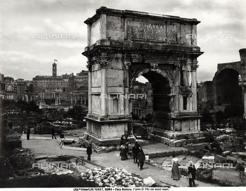 ACA-F-005837-0000 - Arch of Titus, Roman Forum, Rome