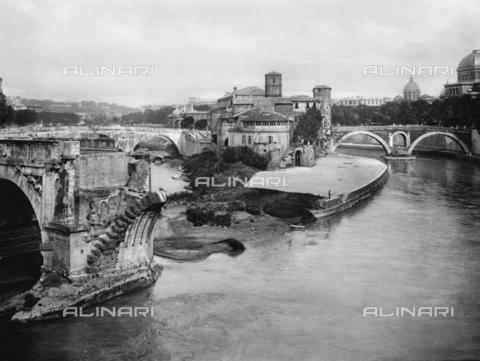 ACA-F-006262-0000 - Pons Aemilius or Ponte Rotto, Rome