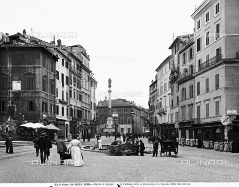 ACA-F-006965-0000 - View of the Piazza di Spagna, Rome
