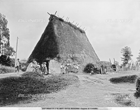 ACA-F-006977-0000 - Peasant hut at Ancient Ostia, Rome