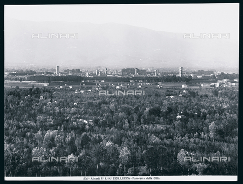 ACA-F-008355-0000 - Lucca. Panorama of the city