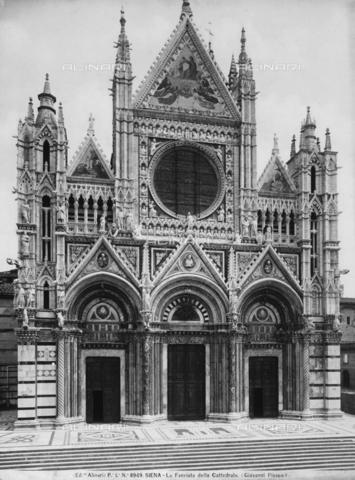 ACA-F-008949-0000 - Cathedral facade, Siena
