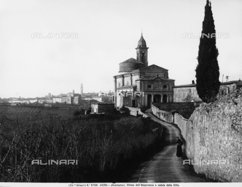 ACA-F-009768-0000 - Church of the Osservanza, environs of Siena