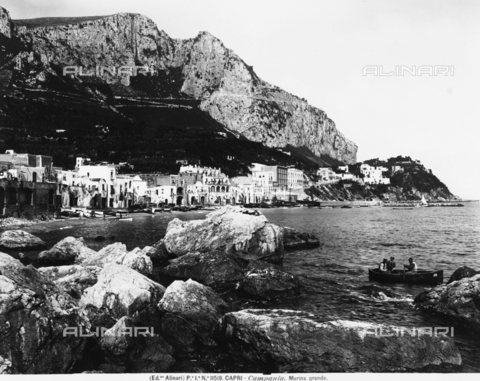 ACA-F-011519-0000 - View of the Marina Grande of Capri