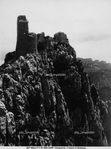 ACA-F-011523-0000 - Ruins of the Castle of Barbarossa, Capri