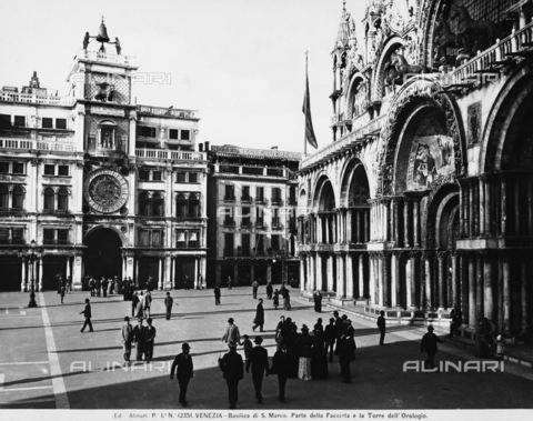 ACA-F-012351-0000 - Clock Tower, Piazza San Marco, Venice