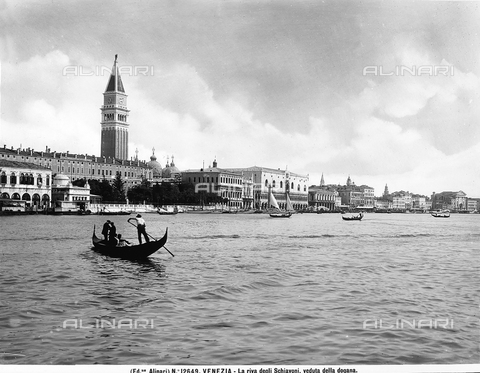ACA-F-012649-0000 - The Riva degli Schiavoni in Venice, viewed from the Dogana, or Customs House
