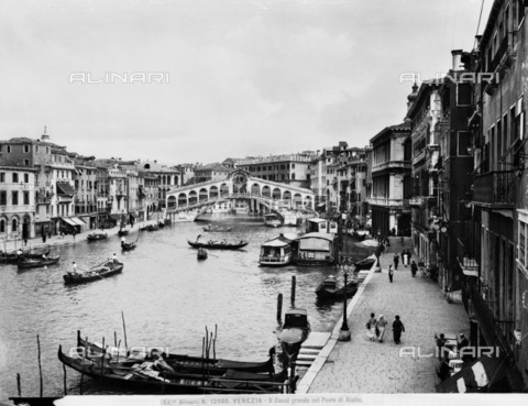 ACA-F-012980-0000 - The Grand Canal and the Rialto Bridge