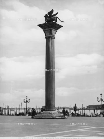 ACA-F-013099-0000 - St. Mark's column, Piazzetta San Marco, Venice