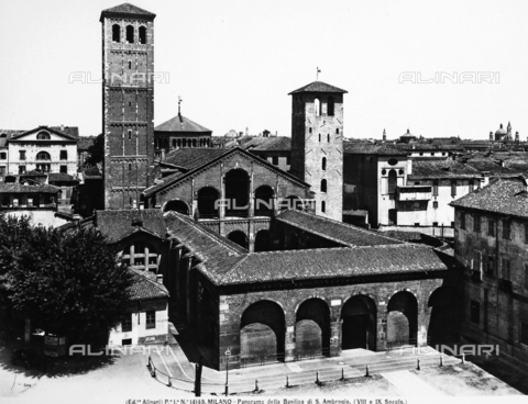 ACA-F-014149-0000 - Basilica of Sant'Ambrogio, Milan