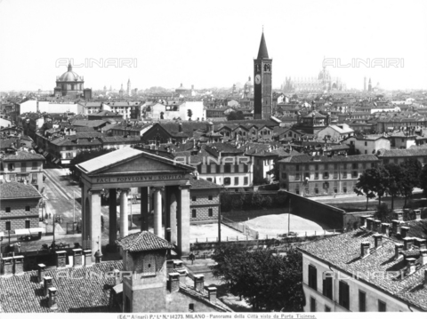 ACA-F-014273-0000 - View of Milan seen from Porta Ticinese