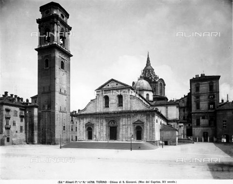 ACA-F-014758-0000 - Cathedral of San Giovanni Battista, Turin