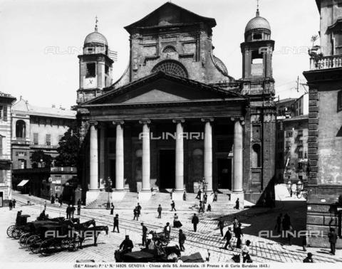 ACA-F-014926-0000 - Santissima Annunziata del Vastato Church, piazzetta Andorlini, Genoa