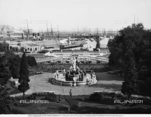 ACA-F-014971-0000 - Neptune's Fountain, Garden, Doria Pamphilj Palace, Genoa