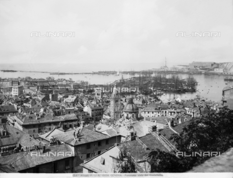 ACA-F-015036-0000 - Panoramic view of Genoa