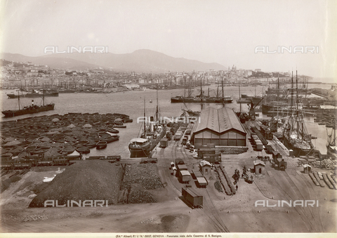 ACA-F-015037-0000 - Panorama of Genoa, seen from the Barracks of San Benigno