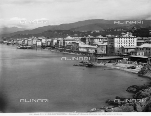 ACA-F-015110-0000 - Panorama of Sanpierdarena, seen from the Lighthouse of Genoa