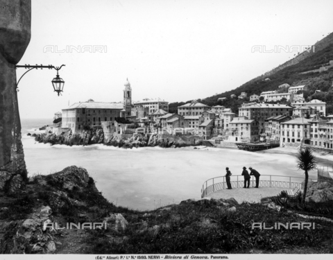 ACA-F-015193-0000 - Panorama of Nervi, town on the Ligurian coast, in the province of Genoa