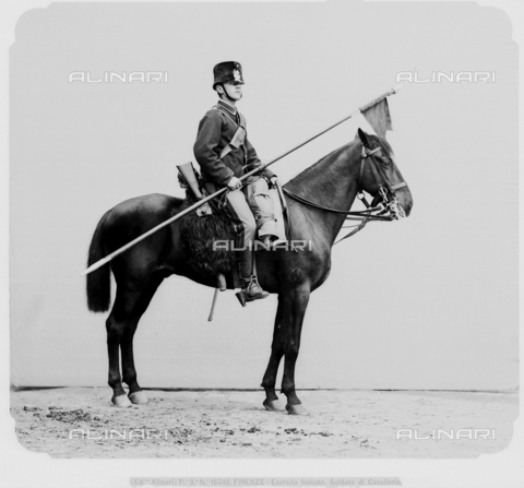 ACA-F-016246-0000 - Soldier on horseback from the Italian army