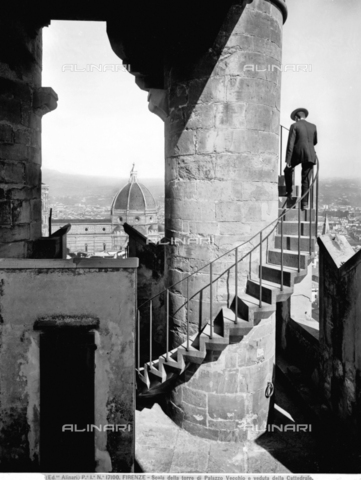 ACA-F-017100-0000 - Staircase of the tower of Arnolfo in Palazzo Vecchio, Florence