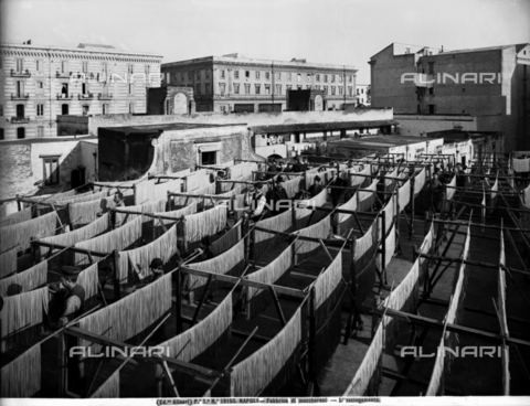ACA-F-019153-0000 - Drying area of a macaroni company in Naples