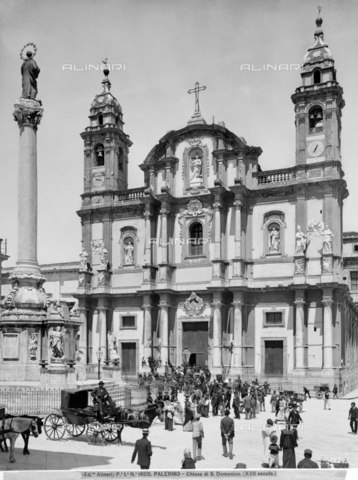 ACA-F-019531-0000 - Church of San Domenico, faà§ade, Palermo