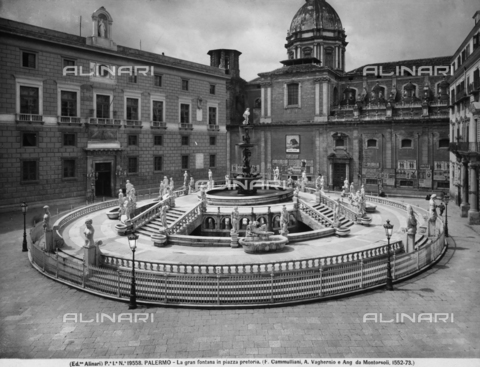 ACA-F-019558-0000 - Pretoria Fountain, Francesco Camilliani, Piazza Pretoria, Palermo