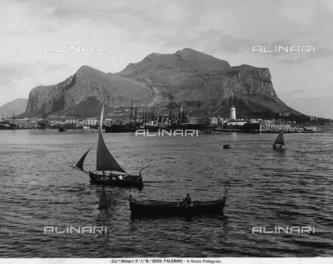 ACA-F-019566-0000 - View of Mount Pellegrino, in Palermo