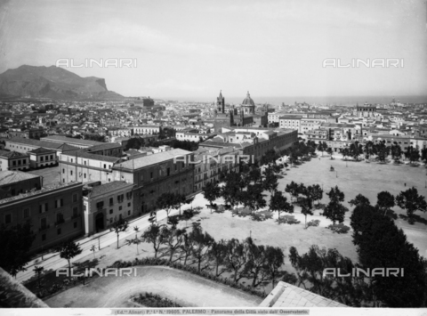 ACA-F-019605-0000 - Panorama of the city of Palermo from the Observatory