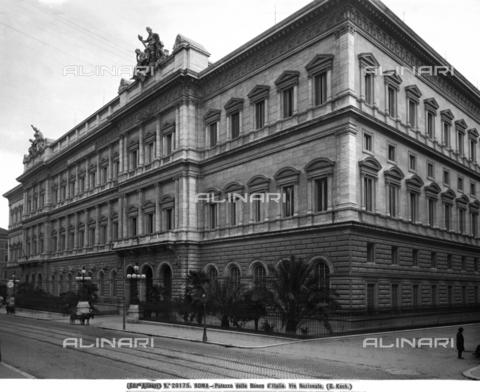 ACA-F-020175-0000 - Palazzo della Banca d'Italia, Rome