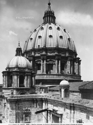 ACA-F-026465-0000 - Dome, Basilica of St. Peter, Vatican City.